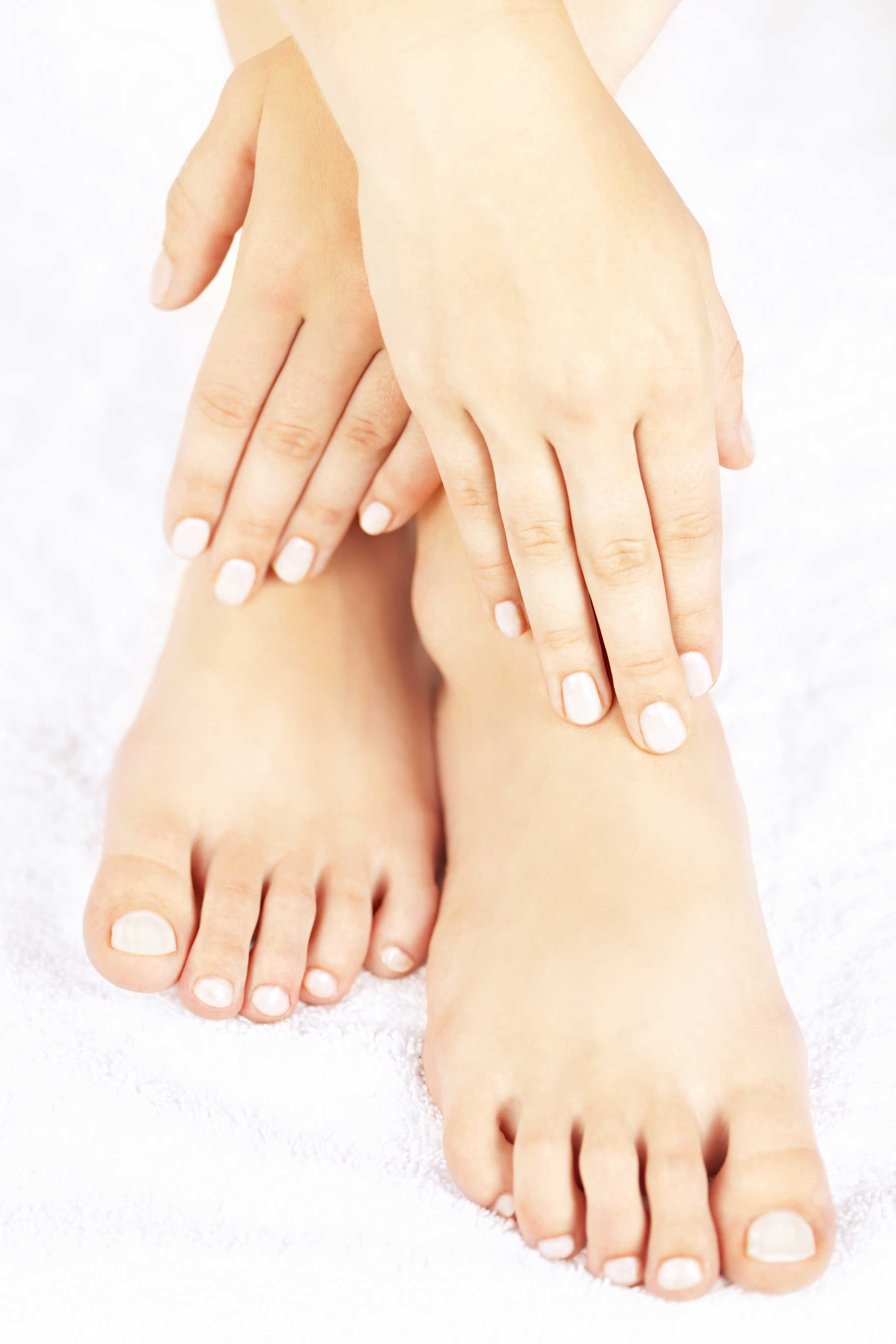 Reverse Type 2 Diabetes. The Genuine Blood Sugar Solution.  Image of foot care for diabetics