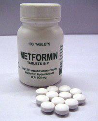 metformin, glucose-lowering drug